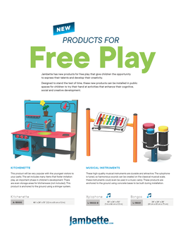 Products for Free Play